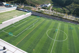 Athletic fields photo (soccer and tennis fields)