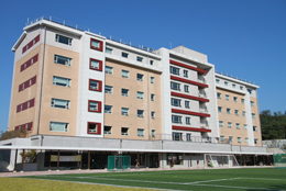 Dormitory facilities building