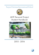 Personal Project Handbook download button